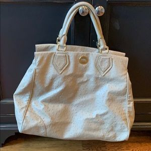 Marc by Marc Jacobs textured beige tote.